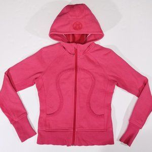 Lululemon Warm Pink Hooded Scuba Hoodie Sweatshirt